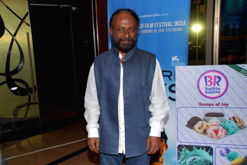 Filmmaker Ketan Mehta during the My French Film Festival 2015 press meet and screening of film Eastern Boy at PVR Cinemas in Mumbai on 13th Jan 2015 - Ketan Mehta