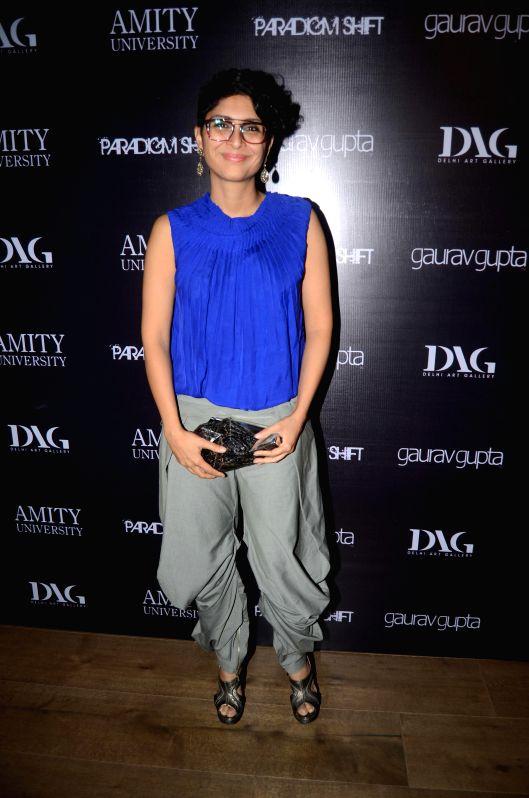 Filmmaker Kiran Rao during the opening of fashion designer Gaurav Gupta's store in Mumbai on Nov 27, 2014. - Kiran Rao