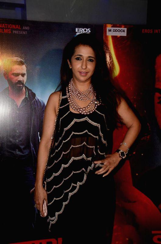 Filmmaker Krishika Lulla during the special screening of the movie Badlapur in Mumbai on 18th Feb, 2015. - Krishika Lulla