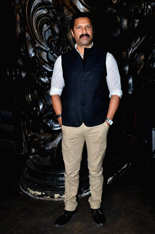 Filmmaker Lucky Morani during the launch of Nadiadwala first Marathi film Murder Mystery in Mumbai, on Dec. 15, 2014. - Lucky Morani