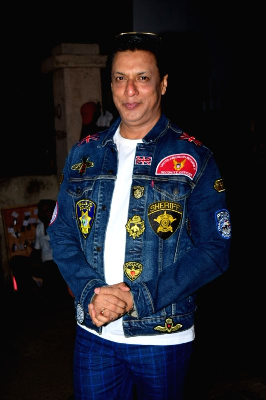 Mumbai: Filmmaker Madhur Bhandarkar  at the birthday party of filmmaker Sudhir Mishra, in Mumbai on Jan 23, 2020.