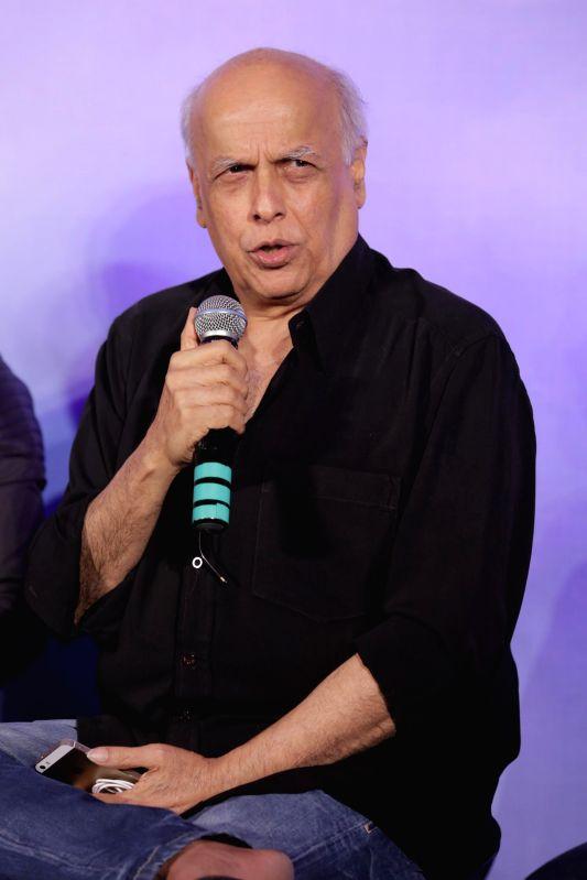 Filmmaker Mahesh Bhatt during the music launch of film Khamoshiyan in Mumbai on 5th Jan 2015 - Mahesh Bhatt
