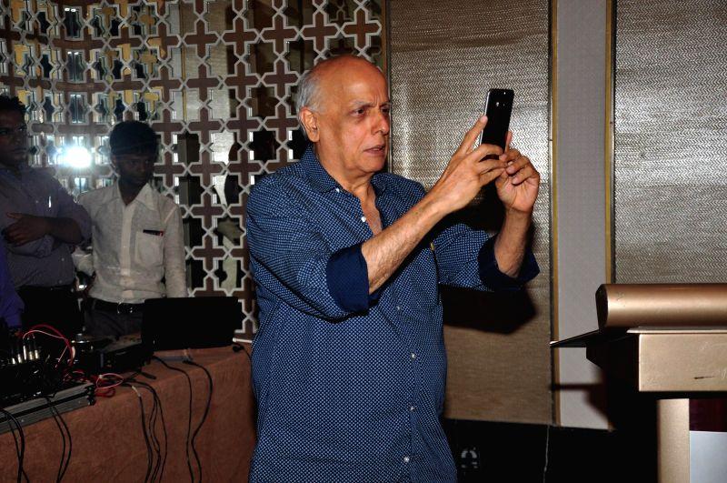 Filmmaker Mahesh Bhatt during the press conference to announce K house Japan, 1st edition of Japan film festival 2014 at Palladium, Lower Parel in Mumbai on Dec 2, 2014. - Mahesh Bhatt