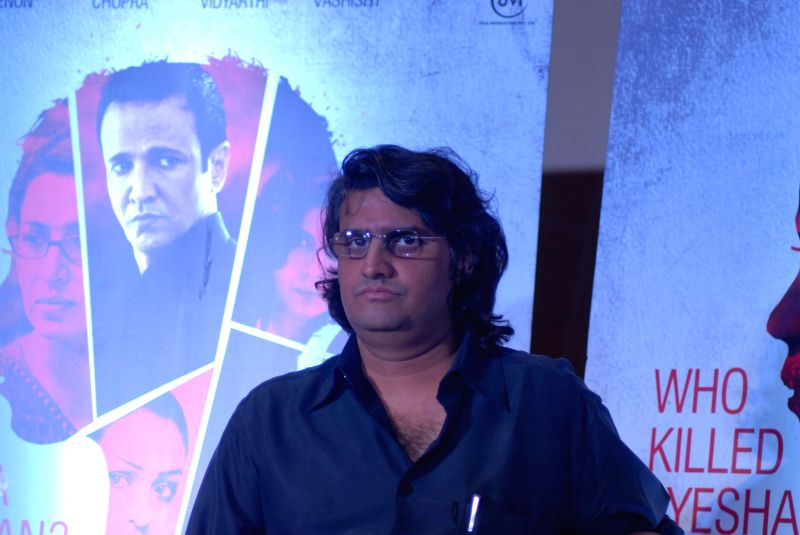 Filmmaker Manish Gupta at film Rahashya press meet in Mumbai on 28th January 2015. - Manish Gupta