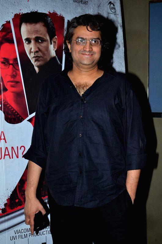 Filmmaker Manish Gupta during the screening of film Rahasya, in Mumbai on Jan. 30, 2015. - Manish Gupta