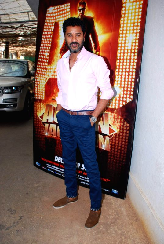 Filmmaker Prabhudeva during the song launch of film Action Jackson, in Mumbai on Nov 25, 2014. - Prabhudeva
