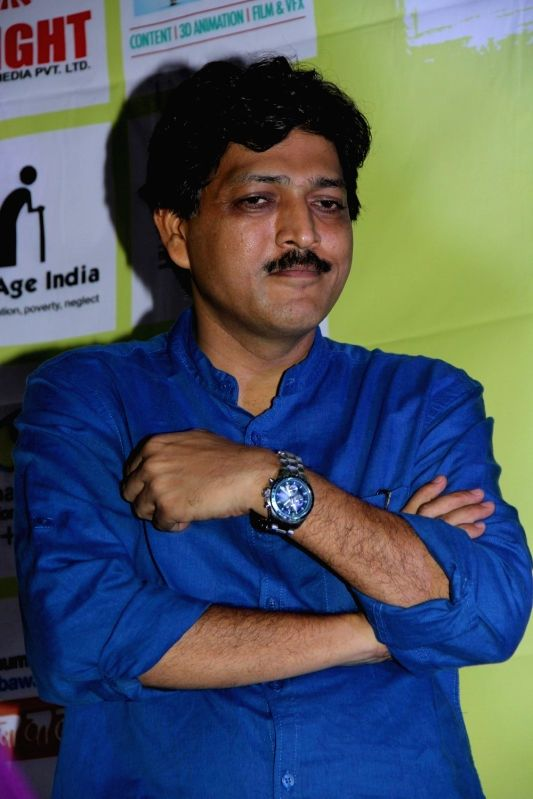 Filmmaker Praveen Morchhale during the trailer launch of film Barefoot to Goa in Mumbai on March 24, 2015. - Praveen Morchhale