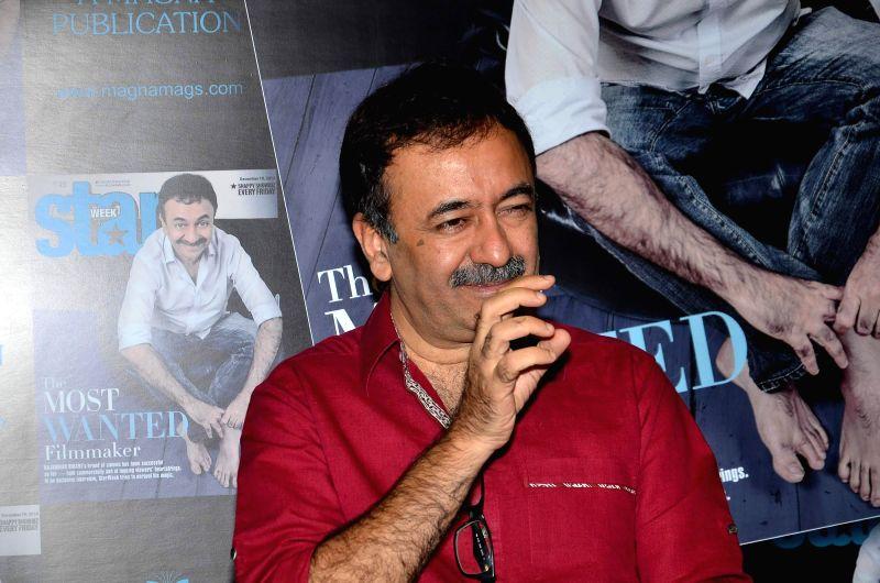 Filmmaker Rajkumar Hirani during the launch of latest issue of Starweek in Mumbai, on Dec. 12, 2014. - Rajkumar Hirani