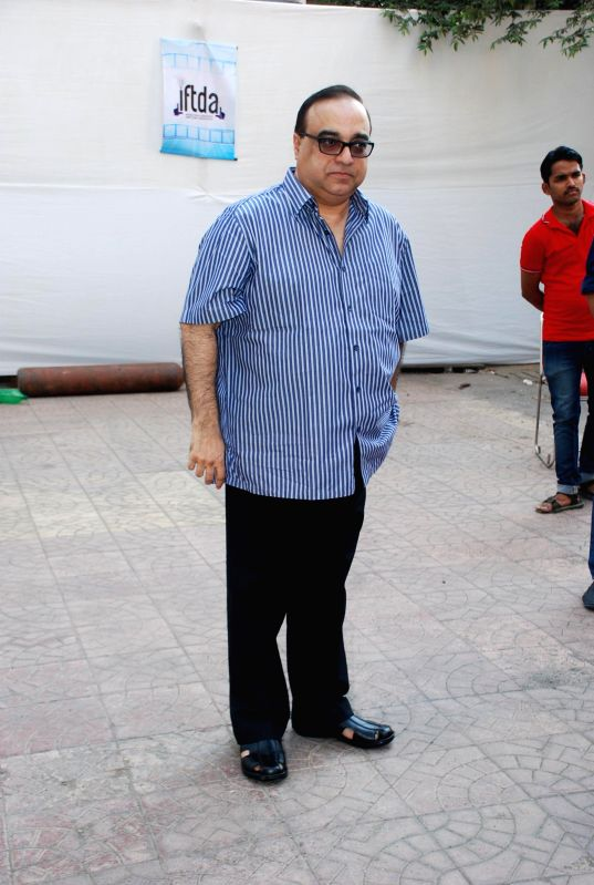 Filmmaker Rajkumar Santoshi during the inauguration of Indian Film and Television Directors Association (IFTDA) office in Mumbai, on Feb. 8, 2015. - Rajkumar Santoshi