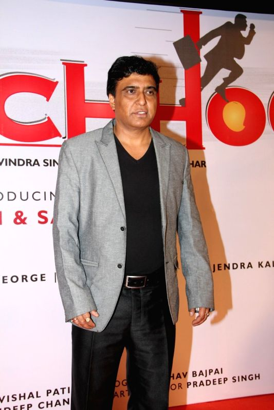 Filmmaker Ravindra Singh during the launch of film Udanchhoo in Mumbai on March 31 2015. - Ravindra Singh