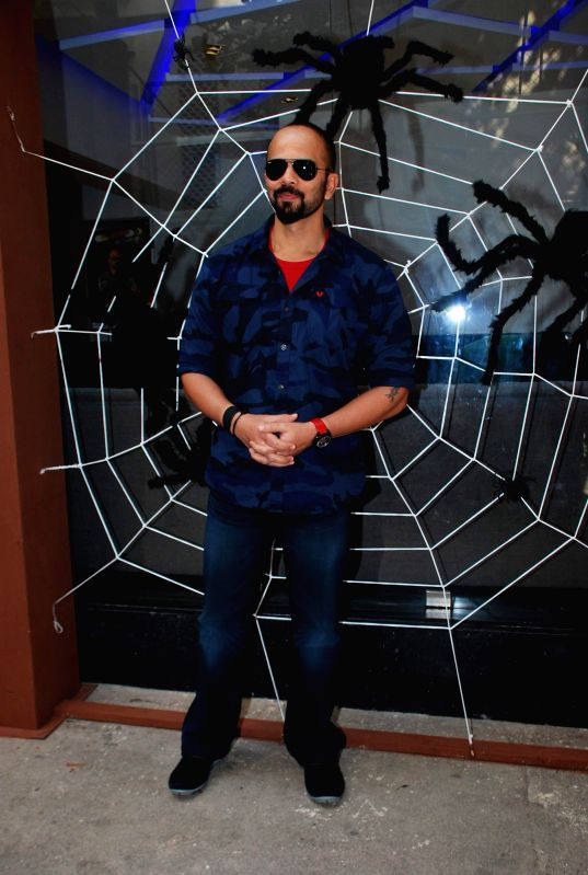 Filmmaker Rohit Shetty during the launch of Colors TV show Khatron Ke Khiladi: Darr Ka Blockbuster Returns in Mumbai on January 29, 2015. - Rohit Shetty