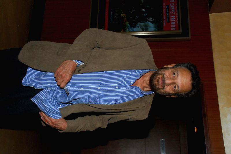 Filmmaker Shekhar Kapur during the screening of film Sulemani Keeda in Mumbai,on Dec 10, 2014. - Shekhar Kapur