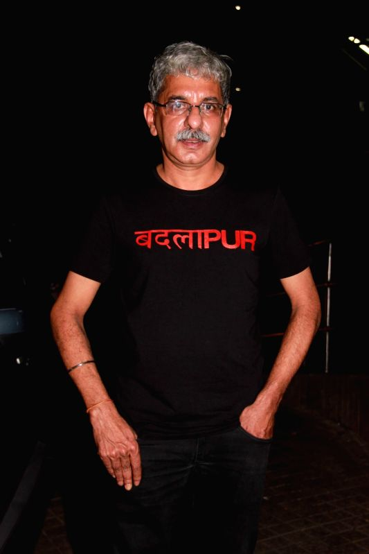 Filmmaker Sriram Raghavan during the special screening film Badlapur in Mumbai on Feb 19, 2015. - Sriram Raghavan