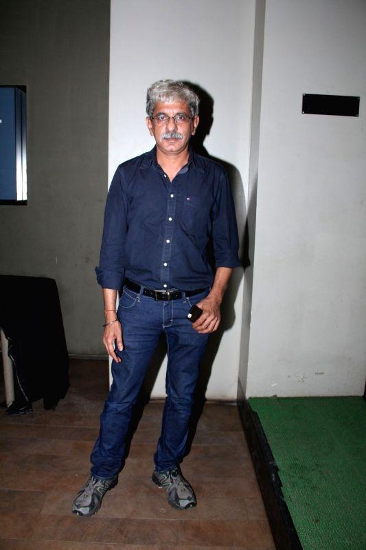Filmmaker Sriram Raghavan during the special screening of Hollywood film Broken Horses in Mumbai on March 30, 2015. - Sriram Raghavan