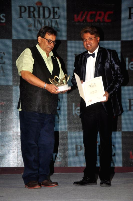 Filmmaker Subhash Ghai during Pride of India Awards in Mumbai, on Dec. 16, 2014. - Subhash Ghai