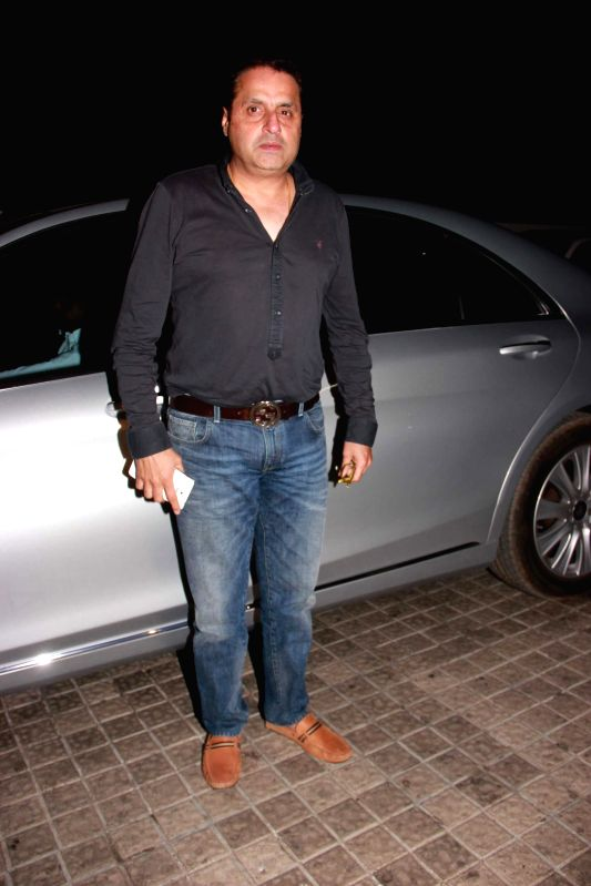 Filmmaker Sunil Lulla during the special screening film Badlapur in Mumbai on Feb 19, 2015. - Sunil Lulla