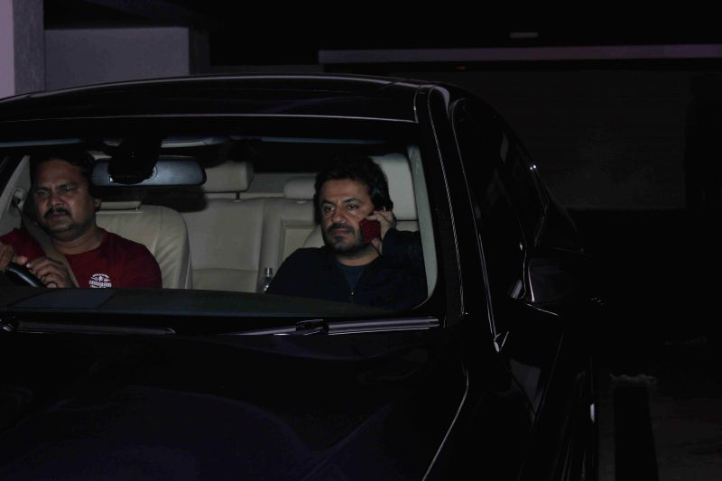 Filmmaker Vikas Bahl spotted at filmmaker Karan Johar's residence in Mumbai, on Jan. 30, 2015. - Vikas Bahl