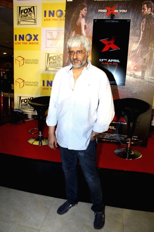 Filmmaker Vikram Bhatt during the promotion of film Mr X in Mumbai on April 6, 2015. - Vikram Bhatt
