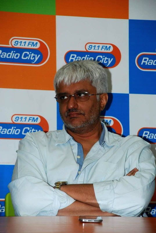 Filmmaker Vikram Bhatt during the music launch of film Mr. X at Radio City in Mumbai, on March 13, 2015. - Vikram Bhatt