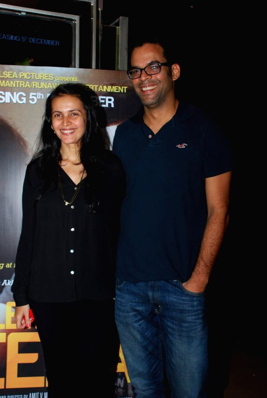 Filmmaker Vikramaditya Motwane during the screening of film Sulemani Keeda in Mumbai on Dec 2, 2014. - Vikramaditya Motwane