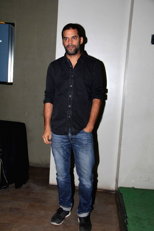 Filmmaker Vikramaditya Motwane during the special screening of Hollywood film Broken Horses in Mumbai on March 30, 2015. - Vikramaditya Motwane