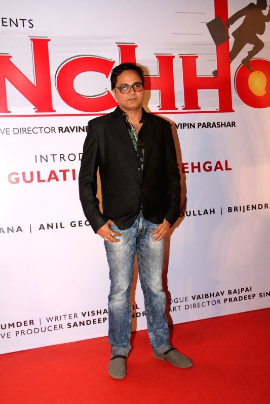 Filmmaker Vipin Parashar during the launch of film Udanchhoo in Mumbai on March 31 2015. - Vipin Parashar
