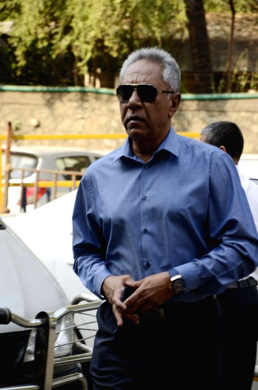 Mumbai: Former India coach Anshuman Gaekwad arrives to attend the Board of Cricket Control of India`s Annual General Meeting at BCCI head Quarter in Mumbai on Nov. 9, 2015. (Photo: Sandeep Mahankal/IANS)