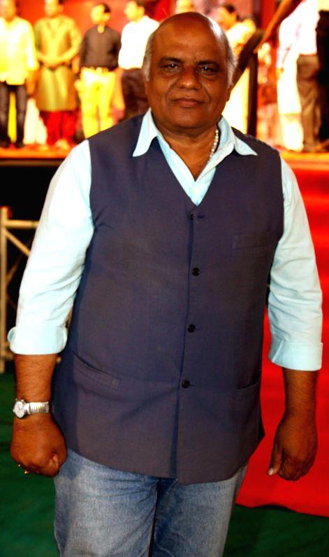 Ghazal singer Sudhakar Sharma during the Rajasthan Day celebration in Mumbai on March 30, 2015. - Sudhakar Sharma