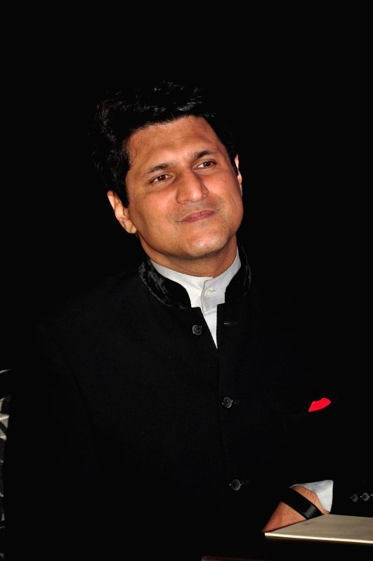 Host Rajiv Makhni during the launch of KPDL Mobile App - Customer Connect and Partner Connect in Mumbai, on Jan. 16, 2015.