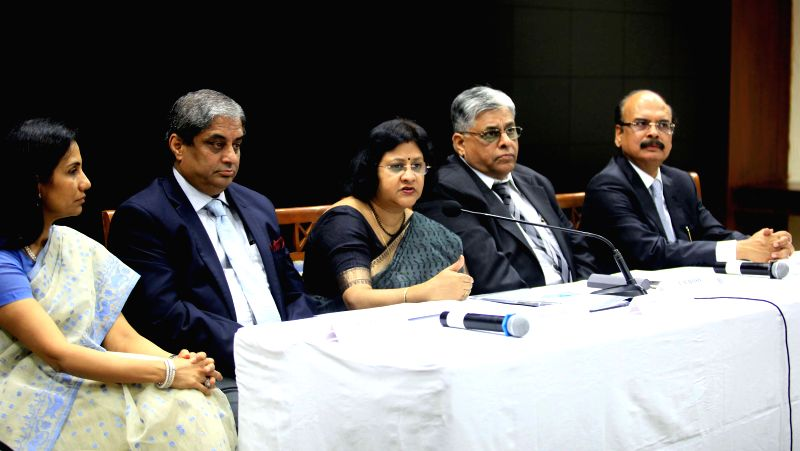ICICI Bank Managing Director and Chief Executive Officer Chanda Kochhar, HDFC Bank Managing Director Aditya Puri, SBI Chairman Arundhati Bhattacharya, Indian Bank Chairman and Managing ...