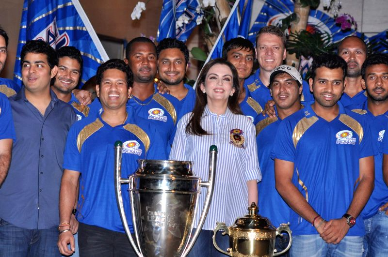 Petrol Prices In France >> Nita Ambani hosts party for Mumbai Indians winning the CLT20