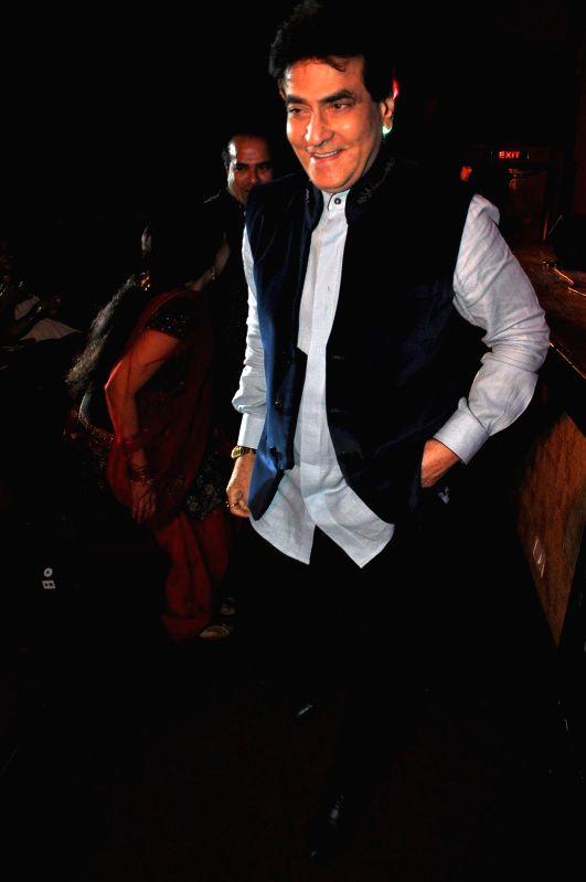 Jeetendr during Kishore Kumar concert in Mumbai on Jan 24, 2015.