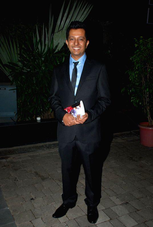 Journalist Rohit Khilnani during the launch his book I Hate Bollywood in Mumbai, on Jan. 22, 2015. - Rohit Khilnani