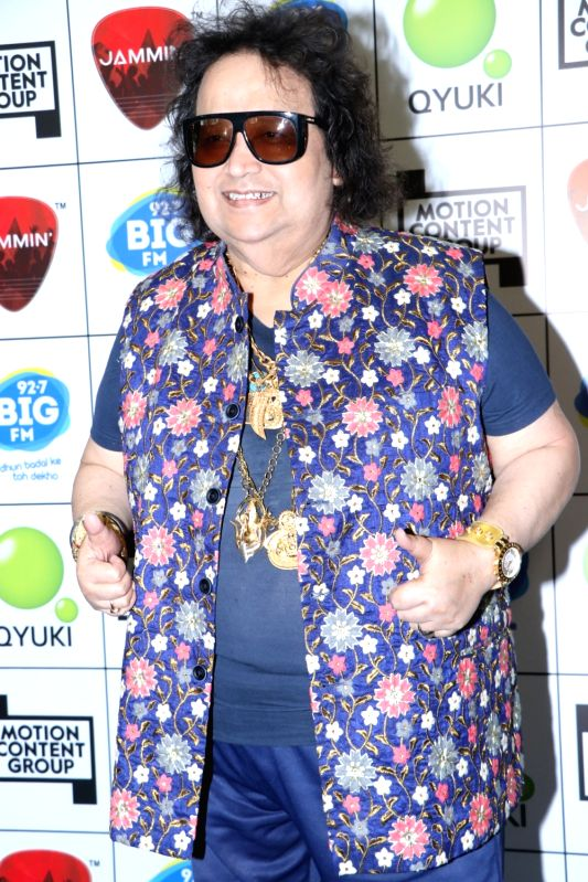 Mumbai, June 25 (IANS) Veteran composer-singer Bappi Lahiri has a happy last memory of Kishore Kumar. He recalls how the legendary playback singer-actor made everyone laugh while recording their last song together.	(File Photo: IANS)