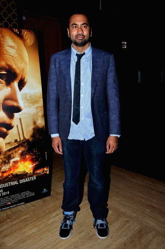 Kal Penn, Associate Director of the Office of Public Engagement, White House during the premiere of film Bhopal: A Prayer for Rain in Mumbai, on December 4, 2014.