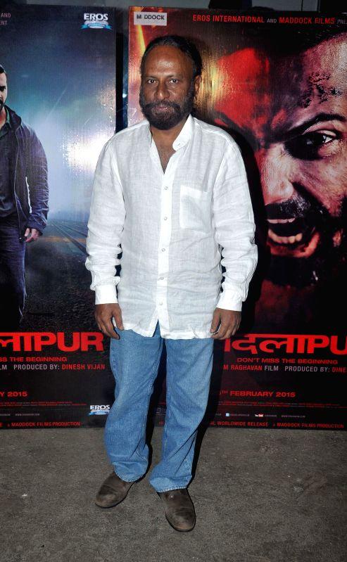 Ketan Mehta during the special screening of the movie Badlapur in Mumbai on 18th Feb, 2015. - Ketan Mehta