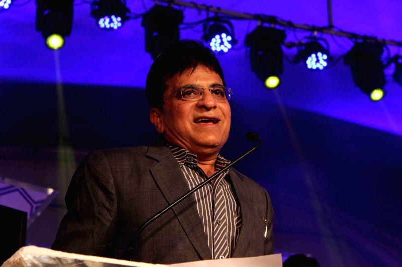 Kirit Somaiya, MP, Bharatiya Janata Party during the ICAI CSR Awards 2014 in Mumbai, on Feb 5, 2015.