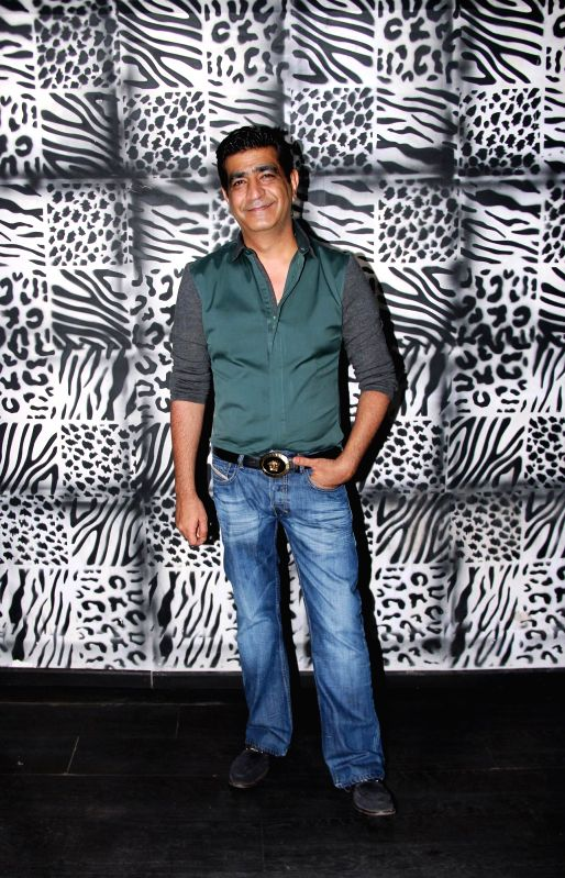 Krishan Kumar at Divya Khosla Kumar`s birthday bash in Mumbai, on November 20, 2014. - Krishan Kumar