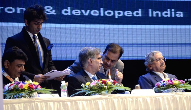 (L to R) NAREDCO vice president Rajan Bandelkar, Co Founder and MD, Hiranandani Group, Niranjan Hiranandani and Maharashtra Industries Minister Subhash Desai during the inauguration of ... - Subhash Desai