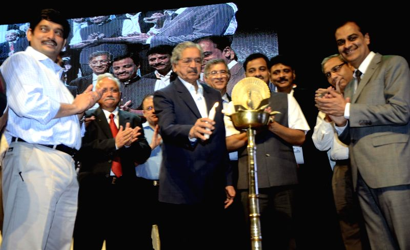 Maharashtra Industries Minister Subhash Desai during the inauguration of NAREDCO (National Real Estate Development Council) conclave at the NCPA in Mumbai, on April 22, 2015. - Subhash Desai