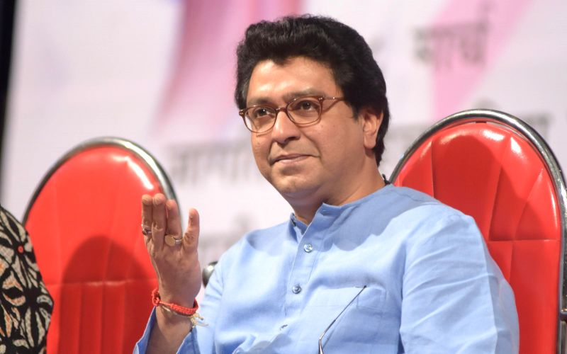 Maharashtra Navnirman Sena (MNS) president Raj Thackrey during the Cancer awareness event on the occasion of International Women`s Day by Savitri Pratishthan in Mumbai, on March 8, 2015.