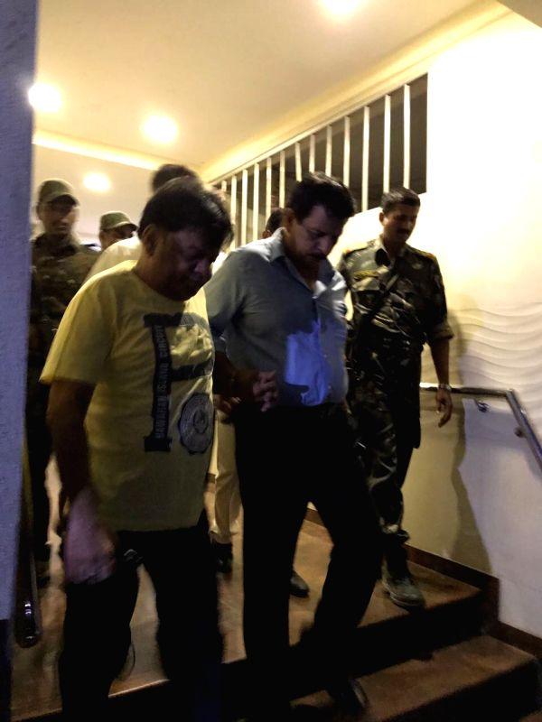 Mumbai:  Maharashtra  Police arrested Iqbal Ibrahim Kaskar, brother of absconding mafia don Dawood Ibrahim Kaskar, in Mumbai on Sep 18, 2017