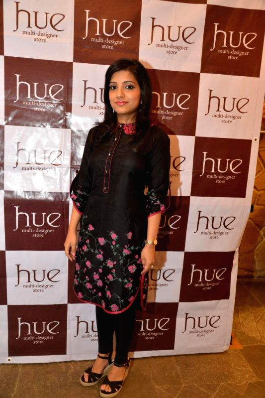 Mahima Bansal during the launch of Spring Summer Collection 2015 by designers Tamanna Punjabi Kapoor and Shruti Sanchet in Mumbai, on March 13, 2015. - Tamanna Punjabi Kapoor