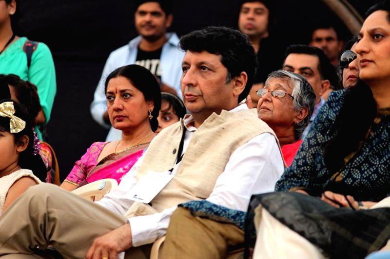 Manek Davar during the inauguration of Kala Ghoda festival in Mumbai on Feb. 7, 2015.