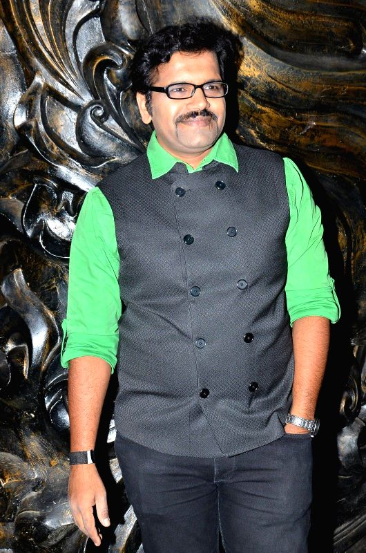 Marathi actor Sanjay Khapre during the launch of Nadiadwala first Marathi film Murder Mystery in Mumbai, on Dec. 15, 2014. - Sanjay Khapre