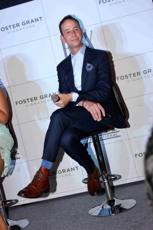 Matthew Panucci, Executive Vice President of international Markets, FGX international during the launch of American eyewear brand, Foster Grants in Mumbai on 18th Feb, 2015.