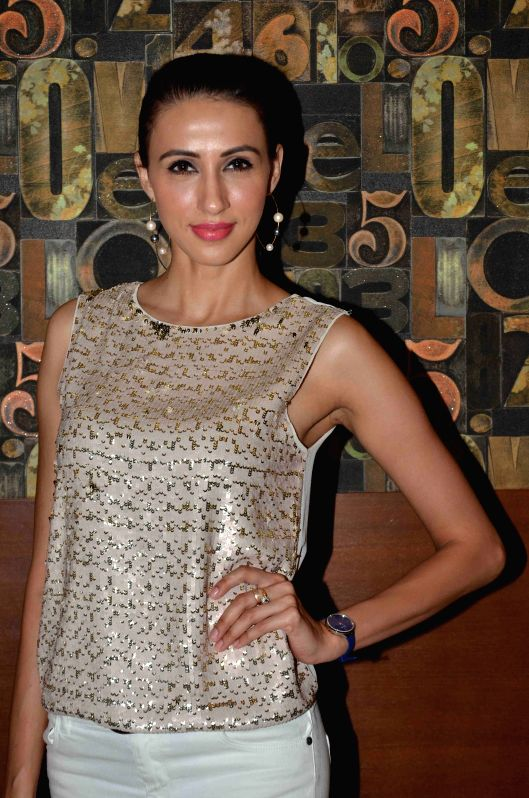 Model Alesia Raut during the launch of Shine Young 2015 in Mumbai on 4th May 2015 - Alesia Raut