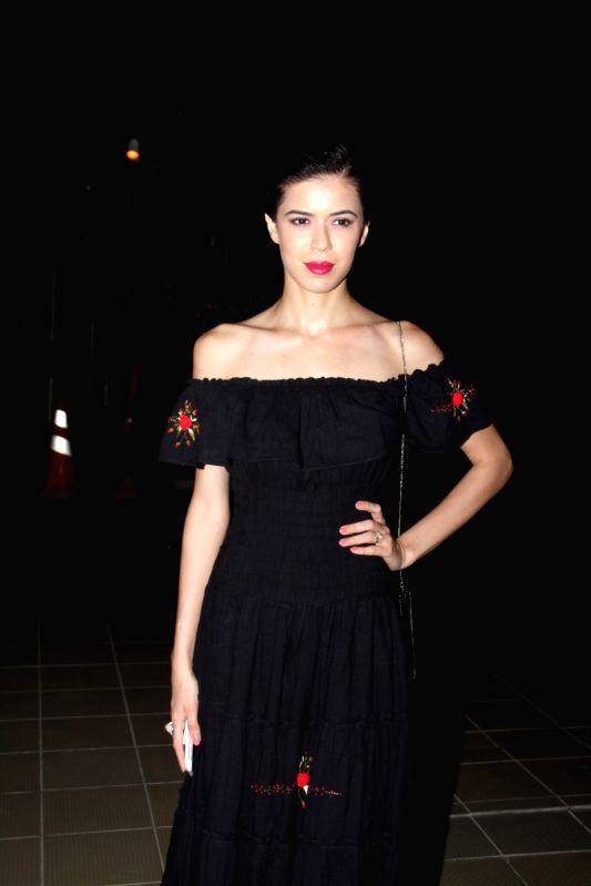 Model Sucheta Sharma during the opening of Soapbox and Makeover Salon at Soham Spa in Mumbai on April 6, 2015. - Sucheta Sharma