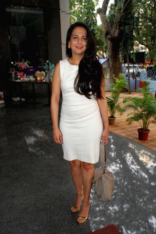 Mumbai: Author Tamanna C during her book launch The Way Ahead in Mumbai on Dec 17, 2014.