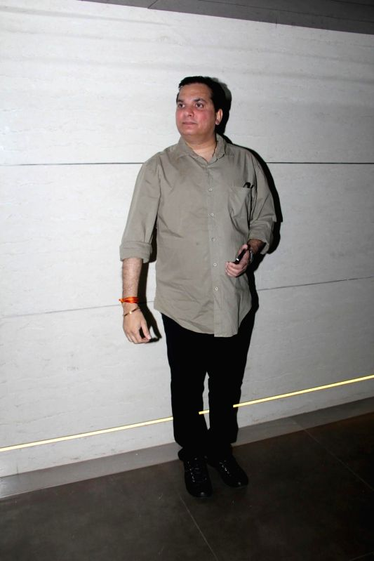 Music composer Lalit Pandit during the launch of Harry`s Bar in Mumbai, on March 19, 2015.